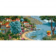 Canovaccio antico - Luc Créations - Tranquillità sulla Costa Azzurra