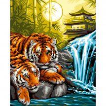 Canovaccio antico - Luc Créations - Le tigri con la pagoda