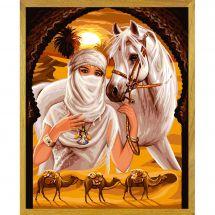 Canovaccio antico - Luc Créations - Principessa del deserto