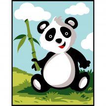 Kit di tela per bambini - Margot de Paris - Panda