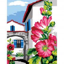 Kit di tela per bambini - Margot de Paris - rosa tremiera