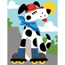 Kit di tela per bambini - Margot de Paris - Rulli per cani