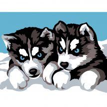 Kit di tela per bambini - Margot de Paris - I piccoli lupi