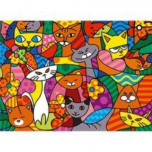 Canovaccio antico - SEG de Paris - Color cats