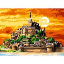 Canovaccio antico - SEG de Paris - Mont St Michel a colori