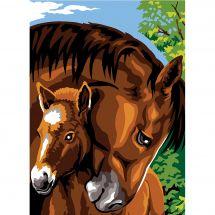 Canovaccio antico - SEG de Paris - Abbracciatore di cavalli