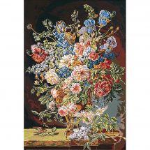 Canovaccio antico - SEG de Paris - Vaso di fiori XVIIIeme secolo