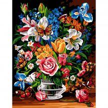 Canovaccio antico - SEG de Paris - Bouquet di farfalle