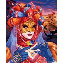 Kit ricamo diamante - Diamond Painting - Donna veneziana