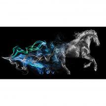 Kit ricamo diamante - Diamond Painting - Cavallo al galoppo