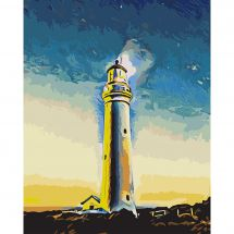 Kit di pittura per numero - Wizardi - Guardiano del mare