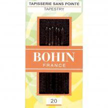 Aghi per tappezzeria - Bohin - Aghi per arazzi a mano n°20