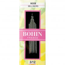 Aghi da cucire - Bohin - Aghi per cucire a mano in modalità n°3 a 12