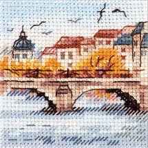 Kit Punto Croce - Alisa - Gabbiani sul ponte