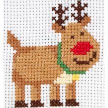 Kit punto croce per bambini - Anchor - Rudolph