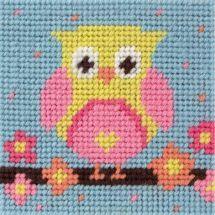 Kit di tela per bambini - Anchor - Civetta