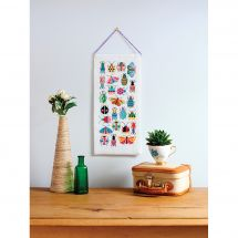 Kit per banner da ricamo - Anchor - Insetti e farfalle