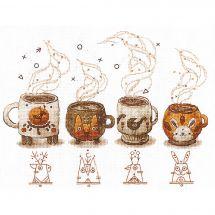Kit Punto Croce - Andriana - Guardiani dei caffè