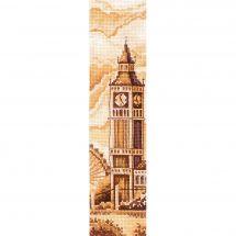 Kit segnalibro da ricamo - Andriana - Cuscino da ricamare Londra