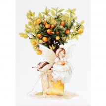 Kit Punto Croce - Luca-S - Elfo e mandarinier