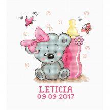 Kit Punto Croce - Luca-S - Leticia