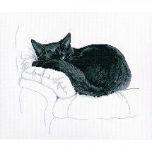 Kit Punto Croce - RTO - Tra i gatto neri