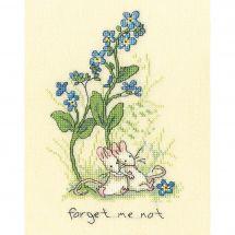 Kit Punto Croce - Bothy Threads - Non dimenticarmi