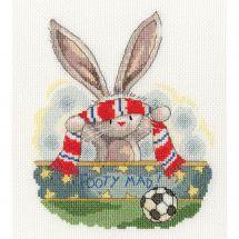 Kit Punto Croce - Bothy Threads - appassionato di calcio