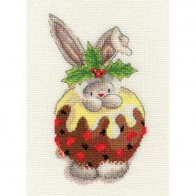 Kit Punto Croce - Bothy Threads - Budino di Natale