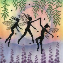 Kit punto croce con perle - Bothy Threads - Danza delle fate