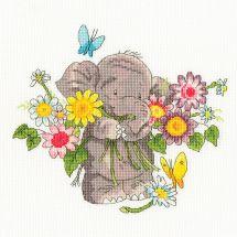Kit Punto Croce - Bothy Threads - Mazzo di fiori Jumbo
