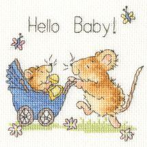 Kit Punto Croce - Bothy Threads - Ciao bambino!