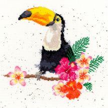 Kit Punto Croce - Bothy Threads - Affezione di tucano