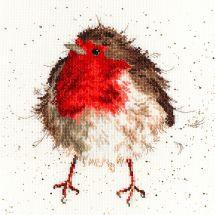 Kit Punto Croce - Bothy Threads - Allegro rosso gola