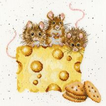 Kit Punto Croce - Bothy Threads - Crackers sur le fromage