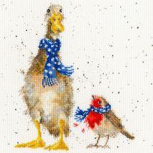Kit Punto Croce - Bothy Threads - Sciarpe di Natale