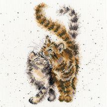 Kit Punto Croce - Bothy Threads - Carezze ai gatti