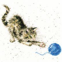 Kit Punto Croce - Bothy Threads - Cuscino da ricamare Kitty