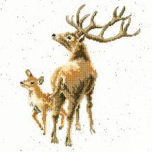 Kit Punto Croce - Bothy Threads - Selvaggio nell'anima