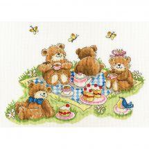 Kit Punto Croce - Bothy Threads - Picnic dell'orso