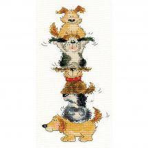 Kit Punto Croce - Bothy Threads - Piramide del cane