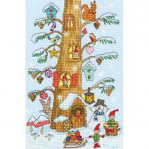 Kit Punto Croce - Bothy Threads - Gli assistenti di Babbo Natale