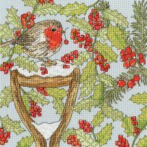 Kit Punto Croce - Bothy Threads - Giardino di Natale