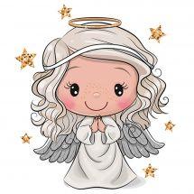 Supporto in cartoncino per ricamo diamante - Collection d'Art - Cuscino da ricamare angelo