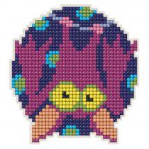 Supporto magnete ricamo diamante - Collection d'Art - Calvo topo
