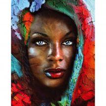 Kit ricamo diamante - Collection d'Art - Tesoro dell'Africa