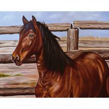 Kit ricamo diamante - Collection d'Art - Mustang