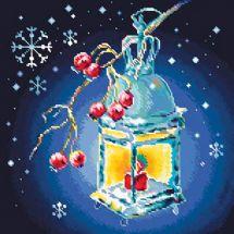 Kit ricamo diamante - Collection d'Art - Lanterna di Natale