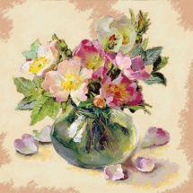 Kit ricamo diamante - Collection d'Art - Mazzo di fiori