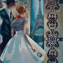 Kit ricamo diamante - Collection d'Art - Primavera a Parigi